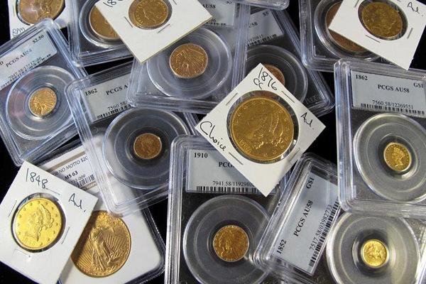 драгоценные металлы в виде монет