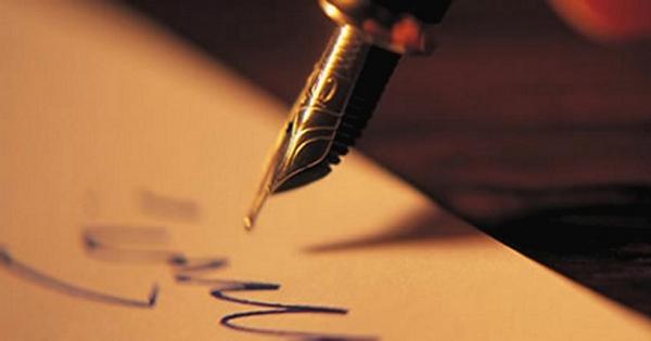 калиграфическое письмо